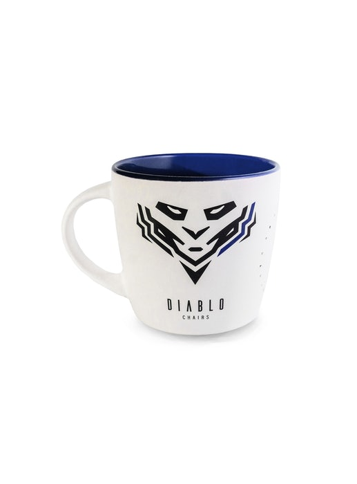Becher Diablo Chairs  Weiß-Blau