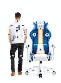 Gaming Stuhl Diablo X-One 2.0 Normal Size: Aqua Blue