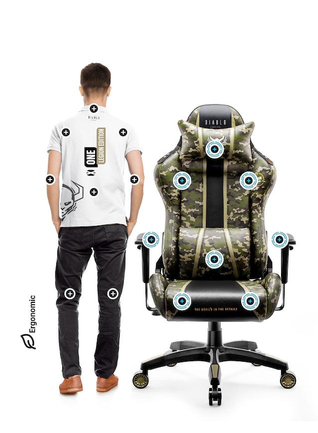 Diablo X-One 2.0 gamer szék Normál méret Legion