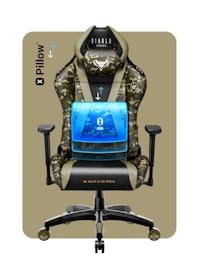 Fotel dziecięcy Diablo X-Horn 2.0 Kids Size: Legion
