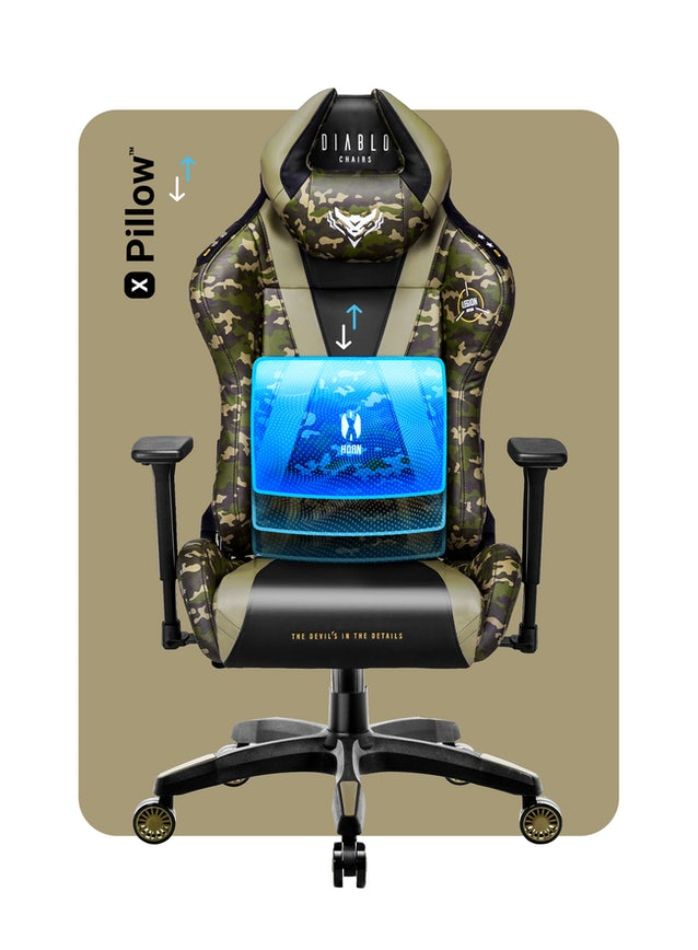 Herní židle Diablo X-Horn 2.0 Normal Size Legion