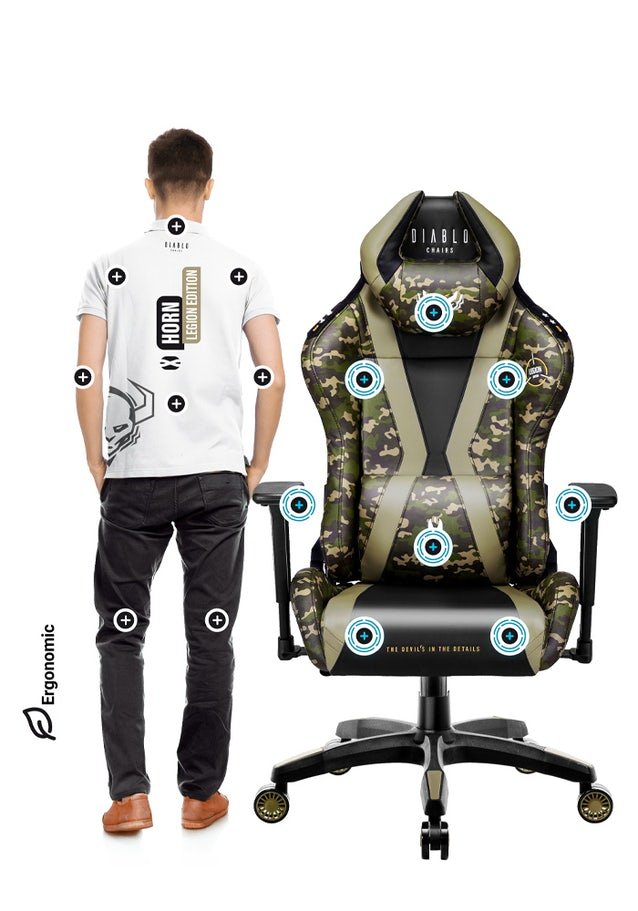 Diablo X-Horn 2.0 gamer szék Normal Size Legion