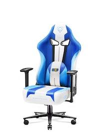 Fotel dziecięcy Diablo X-Player 2.0 materiałowy Kids Size: Frost White