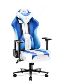 Fotel gamingowy Diablo X-Player 2.0 materiałowy Normal Size: Frost White