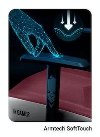 Fotel gamingowy Diablo X-Gamer 2.0 Normal Size: Marshmallow Pink