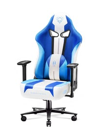 Gaming Stuhl Diablo X-Player 2.0 mit Stoffbezug Frost White: Normal Size
