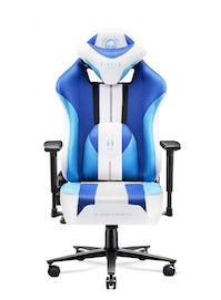 Gaming Stuhl Diablo X-Player 2.0 mit Stoffbezug King Size: Frost White