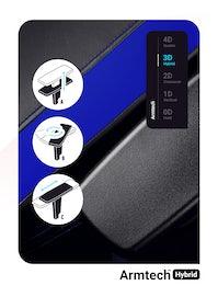 Fotel gamingowy Diablo X-Horn 2.0 Normal Size: Czarno-niebieski