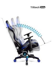 Herní židle Diablo X-Horn 2.0 Normal Size: černo-modrá Diablochairs