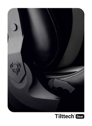 Dětská otočná herní židle Diablo X-Horn 2.0 Kids size: Černo-bílá Diablochairs
