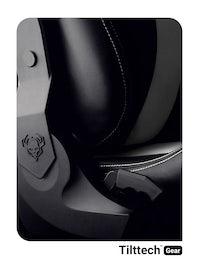 Dětská otočná židle Diablo X-Horn 2.0 Kids size: Černo-bílá Diablochairs
