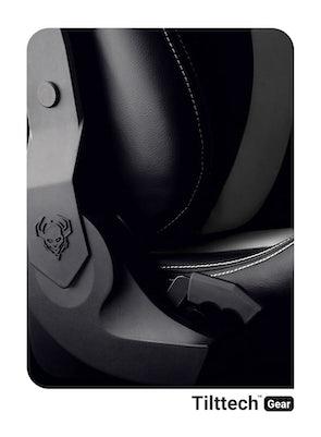 Scaun gaming Diablo X-Horn 2.0 King Size: Negru-alb Diablochairs