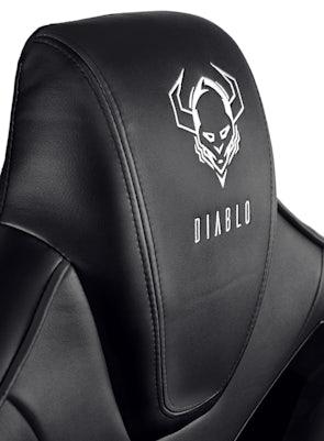 Herné kreslo Diablo X-Fighter Normal Size: čierne Diablochairs
