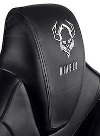 Scaun gaming Diablo X-Fighter Normal Size: negru Diablochairs