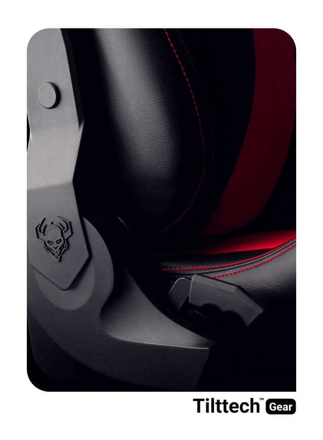 Herné kreslo Diablo X-Horn 2.0 Normal Size: Čierno-červené Diablochairs