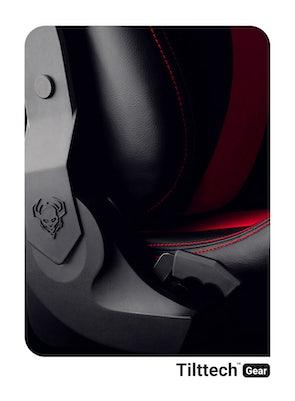 Gaming Stuhl Diablo X-Horn 2.0 Normal Size: Schwarz-Rot