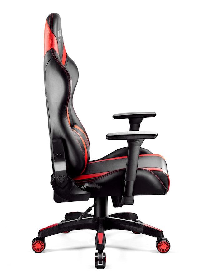 Diablo X-Horn 2.0 gamer szék King Size: Fekete-piros Diablochairs