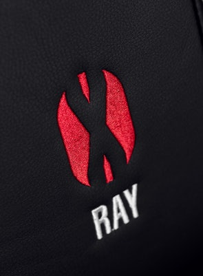 Fotel gamingowy Diablo X-Ray King Size: Czarno-czerwony