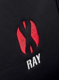 Kinder Schreibtischstuhl Diablo X-Ray Kids Size: Schwarz-Rot