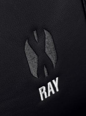 Fotel dziecięcy Diablo X-Ray Kids Size: Czarno-czarny