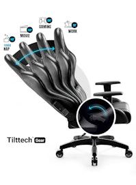 Dětská herní židle Diablo X-One 2.0 Kids Size: černá Diablochairs